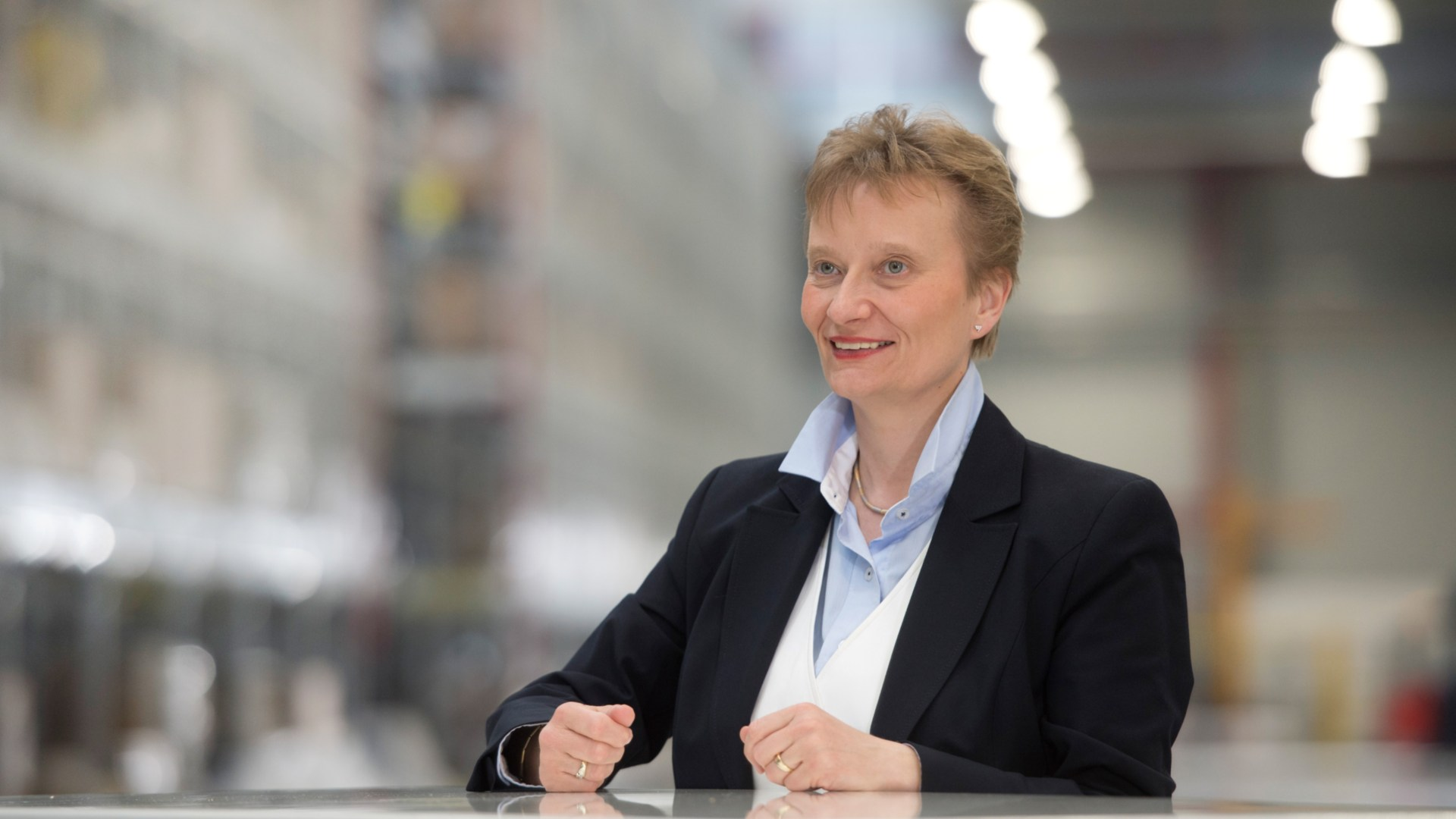 Sabine Neuß Chief Operating Officer von Linde Material Handling