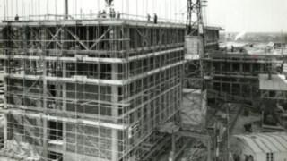 Scaffold on the site in Aschaffenburg