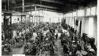 Factory hall in Aschaffenburg